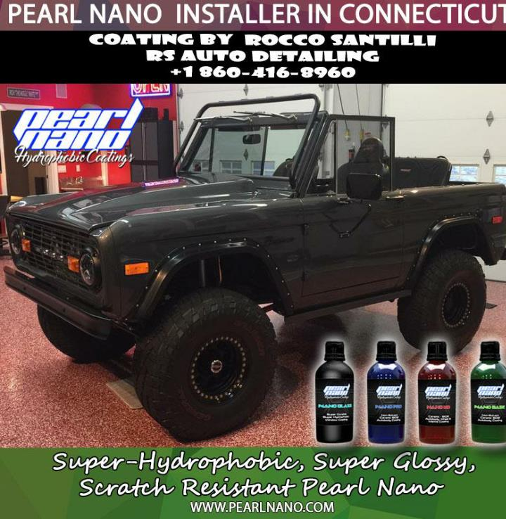 Pearl nano super hydrophobic 9h ceramic protection by rs auto detailing