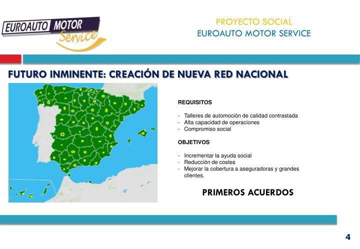 FUTURO INMINENTE: CREACIÓN DE NUEVA RED NACIONAL