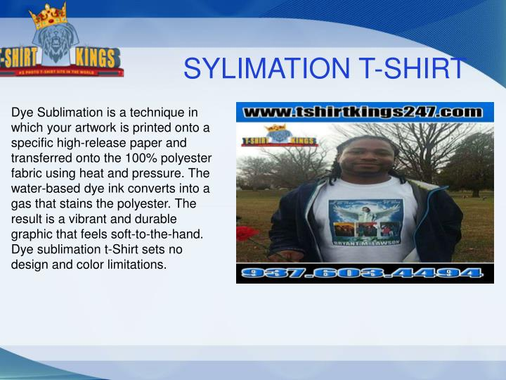 SYLIMATION T-SHIRT