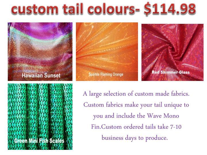 custom tail