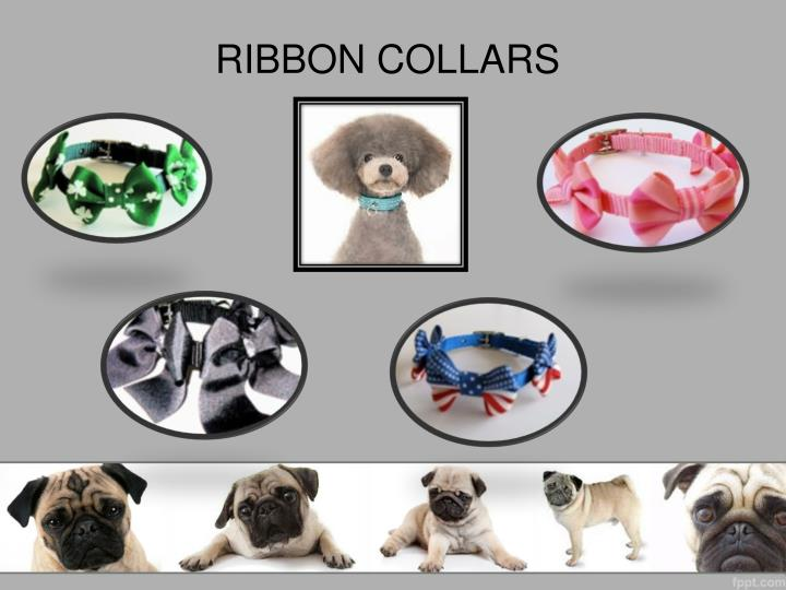 RIBBON COLLARS
