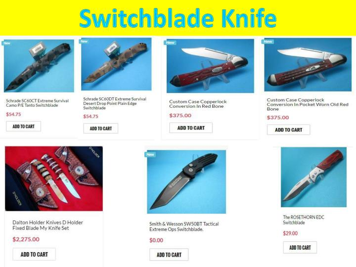 Switchblade Knife