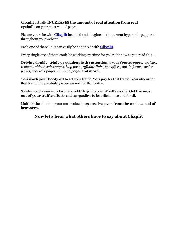 Clixplit