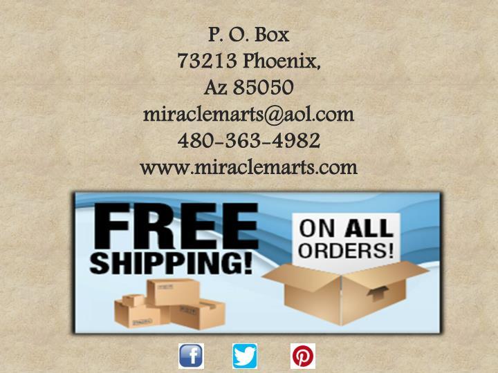 P. O. Box