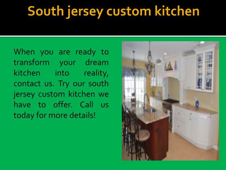 South jersey custom kitchen