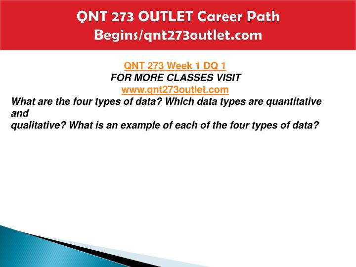Qnt 273 outlet career path begins qnt273outlet com2