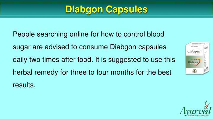 Diabgon Capsules