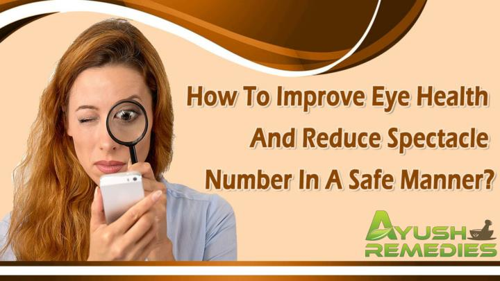 How to improve eye health and reduce spectacle number in a safe manner