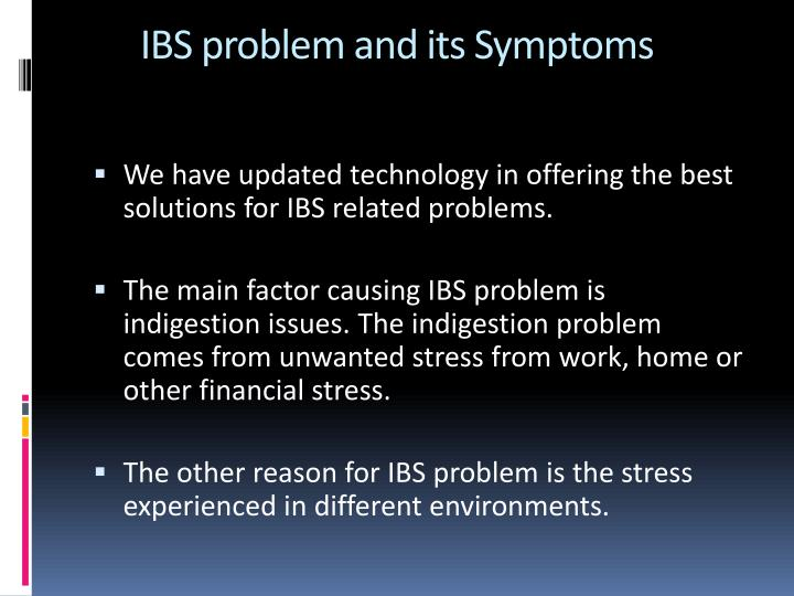 IBS problem and its Symptoms