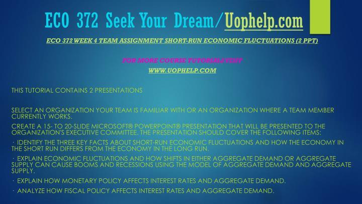 Eco 372 week 2 paper
