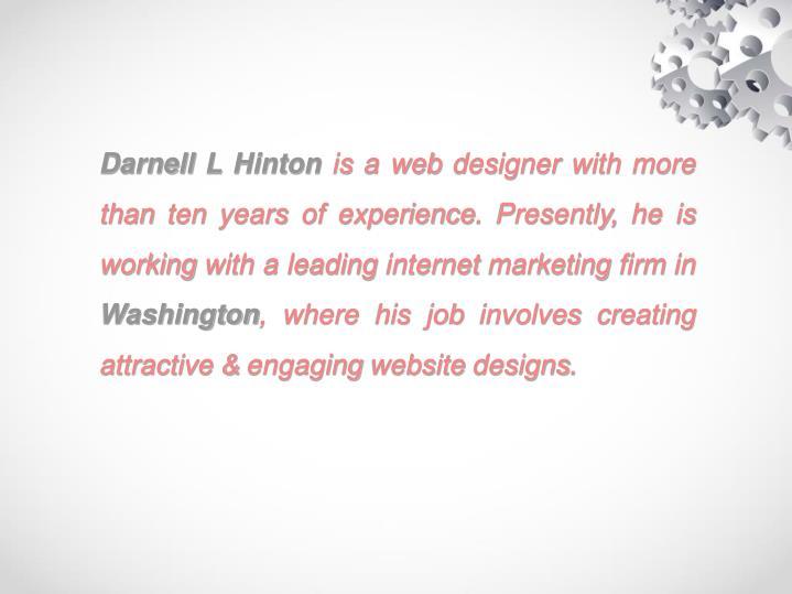 Darnell L Hinton