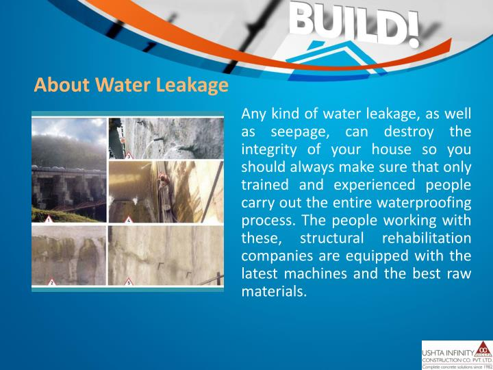 About Water Leakage