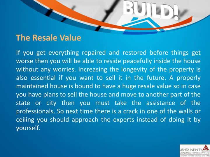 The Resale Value