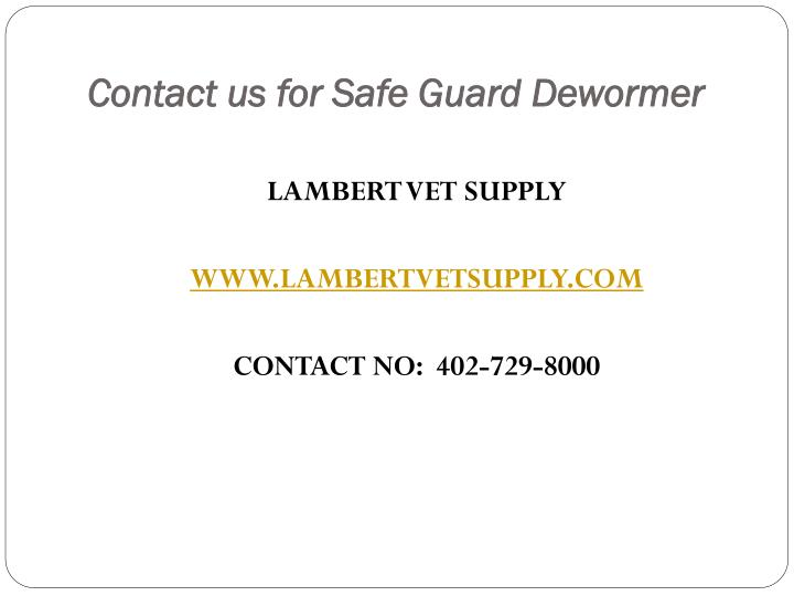 Contact us for