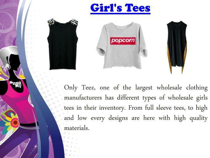 Girl's Tees