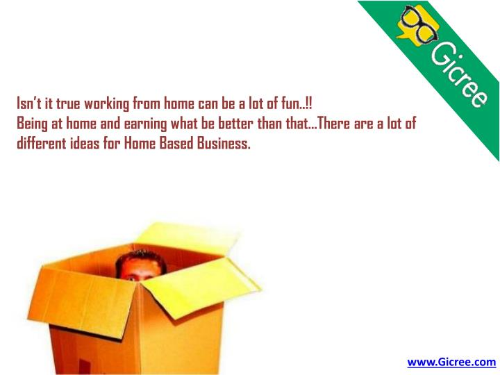Isn't it true working from home can be a lot of fun..!!