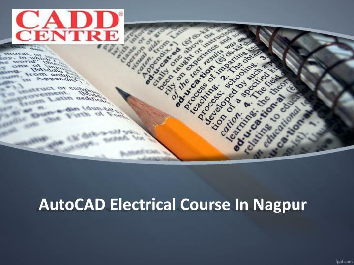 AutoCAD Electrical Course In Nagpur