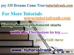 psy 335 dreams come true tutorialrank com6