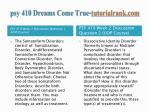 psy 410 dreams come true tutorialrank com3