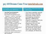 psy 410 dreams come true tutorialrank com4
