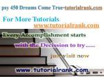 psy 450 dreams come true tutorialrank com10