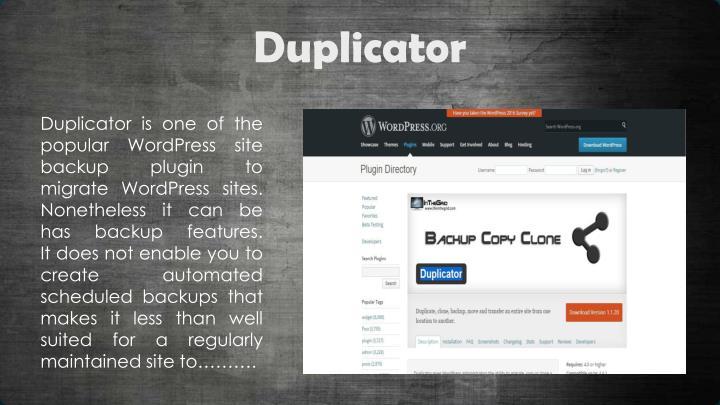 Duplicator