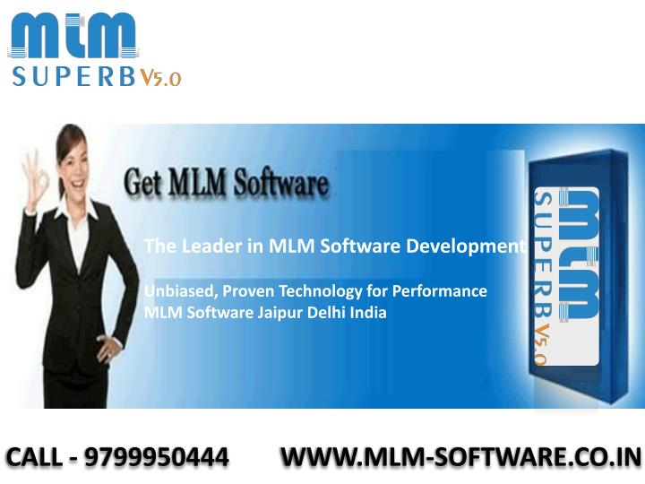 The Leader in MLM Software