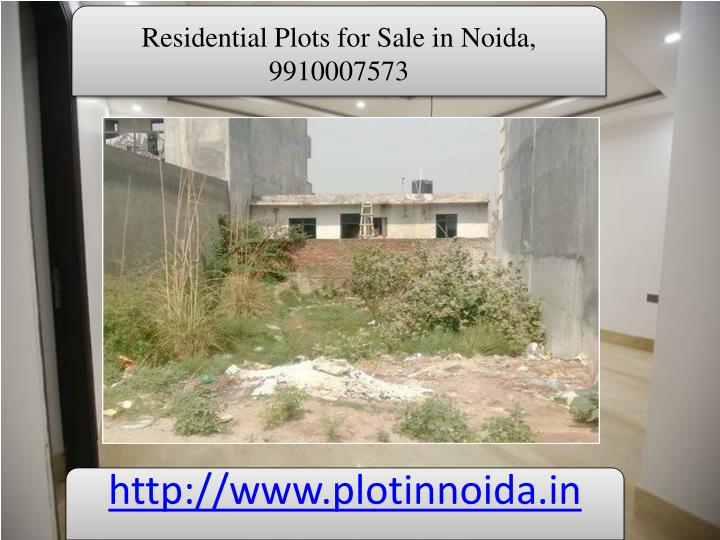 Residential Plots for Sale in