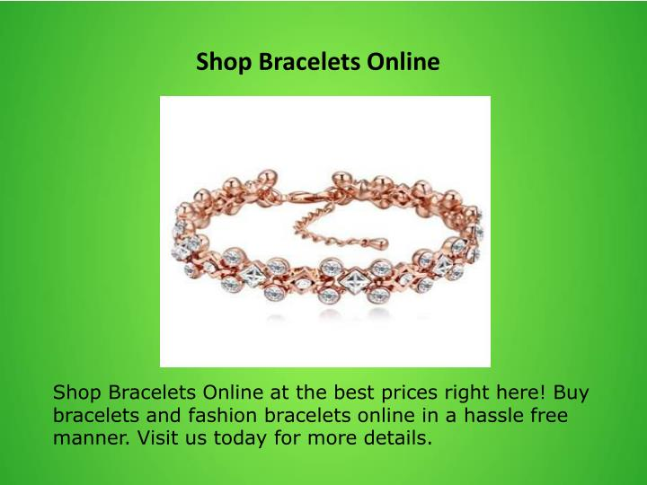 Shop Bracelets Online