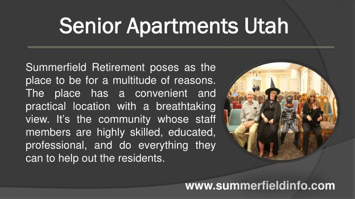 Senior Apartments Utah