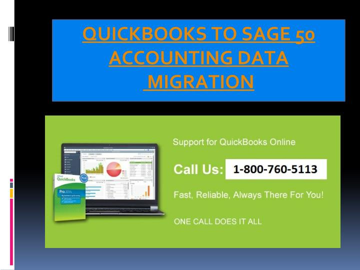 QUICKBOOKS TO SAGE 50