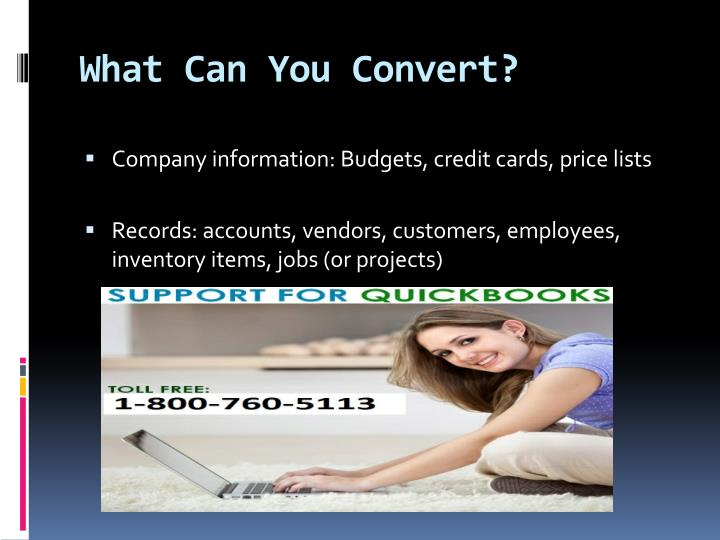 What Can You Convert?