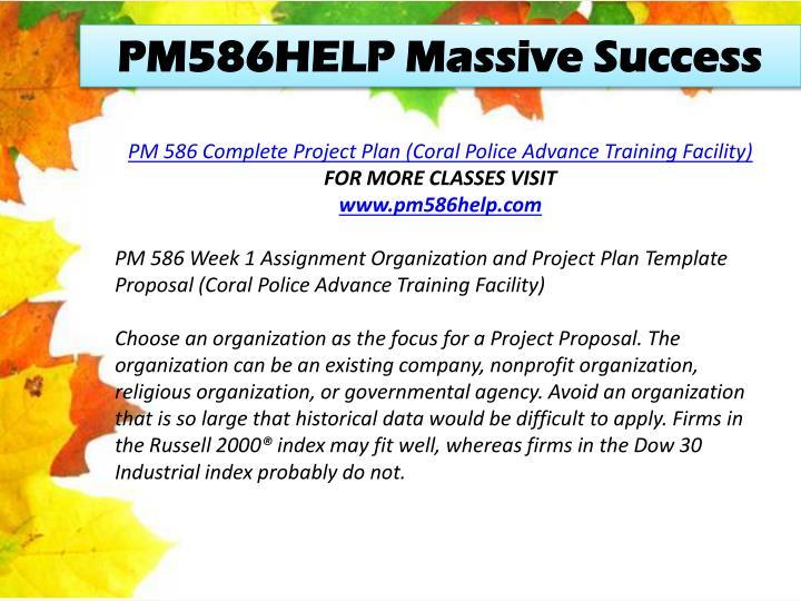 PM586HELP Massive Success