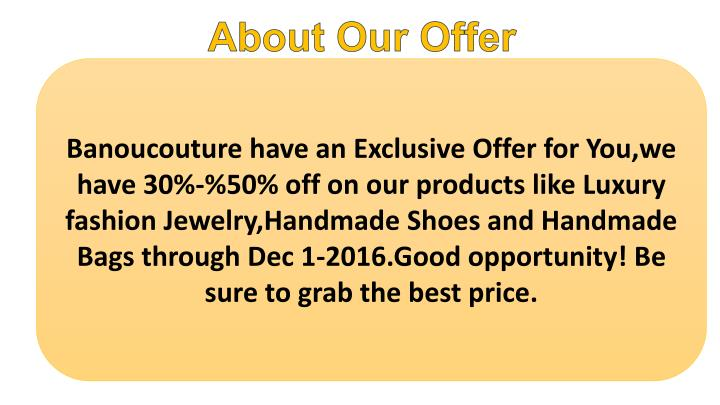 About Our Offer