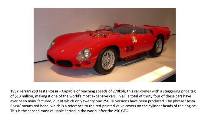 1957 Ferrari 250