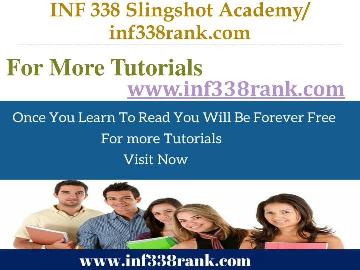INF 338 Slingshot Academy/ inf338rank.com