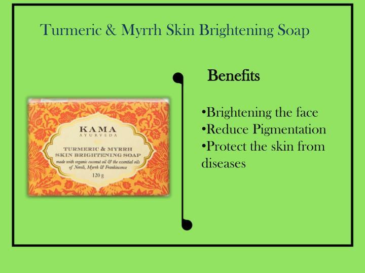 Turmeric & Myrrh Skin Brightening Soap