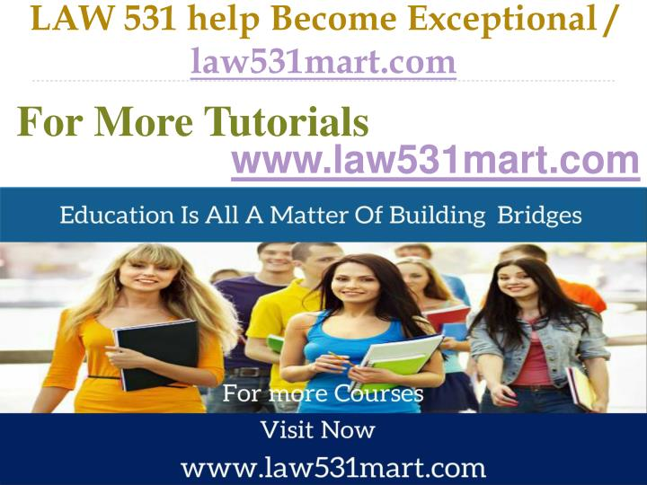 Law 531 help become exceptional law531mart com