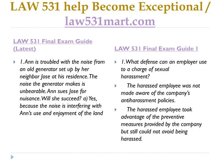 Law 531 help become exceptional law531mart com2