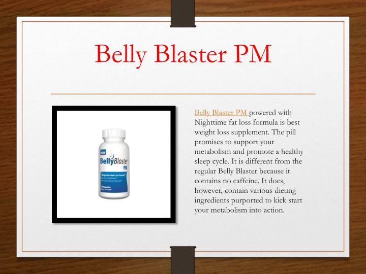 Belly Blaster PM