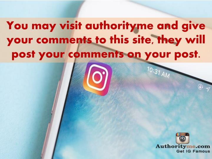 You may visit authorityme and give your comments to this site, they will post your comments on your post.