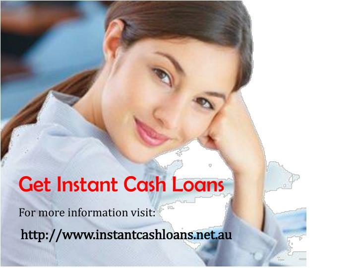 Get Instant Cash Loans