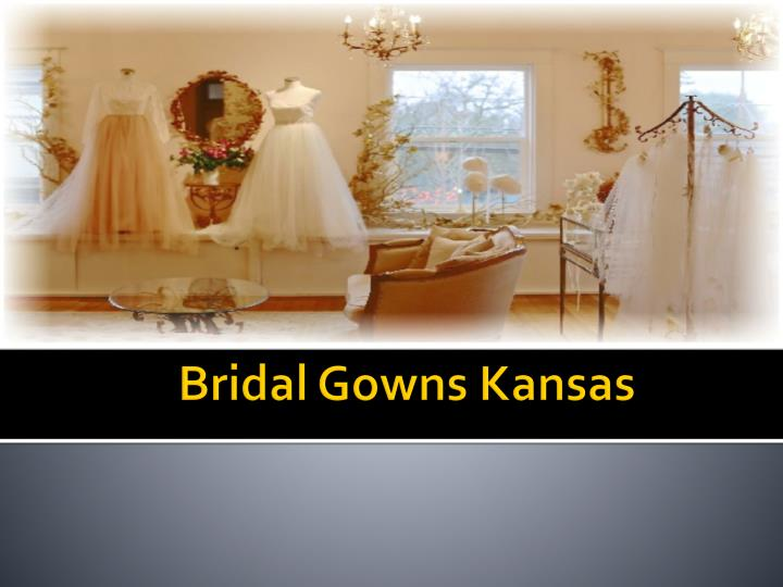Bridal gowns kansas