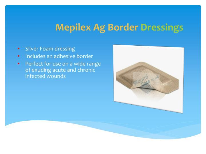 Mepilex Ag Border