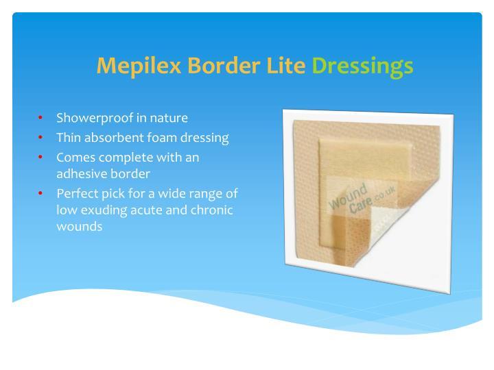 Mepilex Border Lite