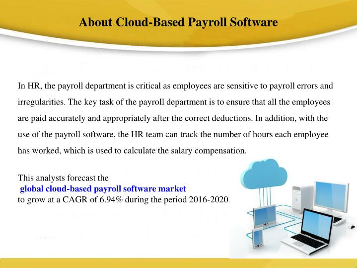 About Cloud-Based Payroll Software