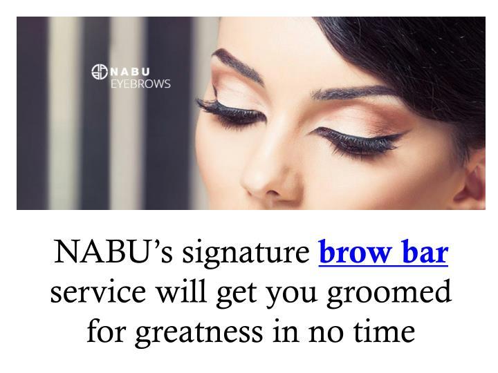 NABU's signature