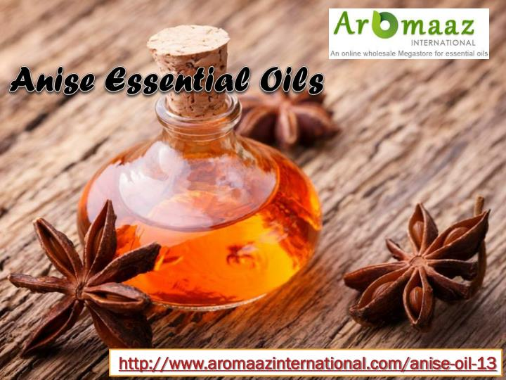Anise Essential Oils