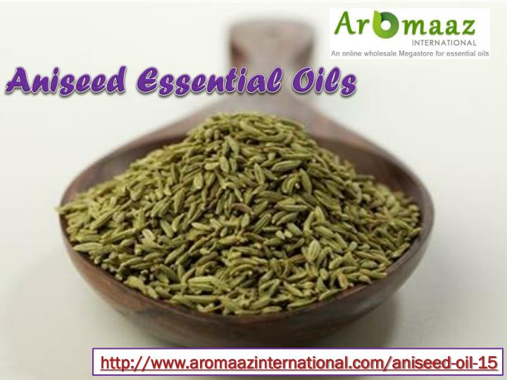 Aniseed Essential Oils