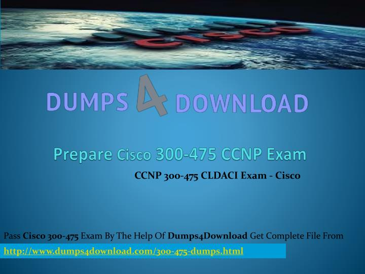Prepare cisco 300 475 ccnp exam